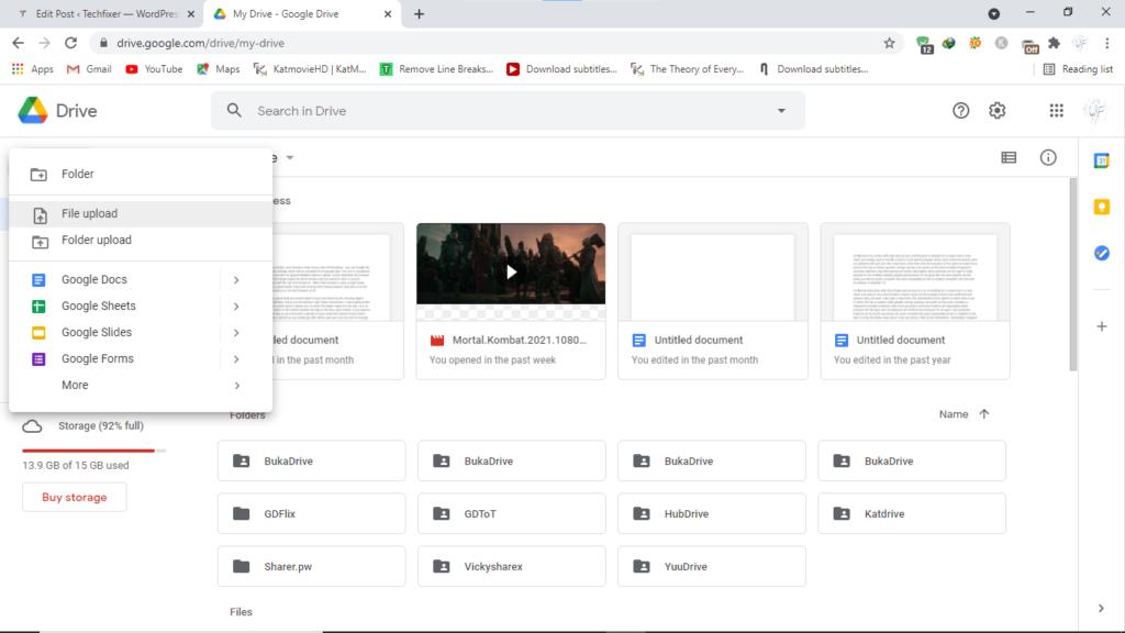 Step1.edit PDF with Google Docs