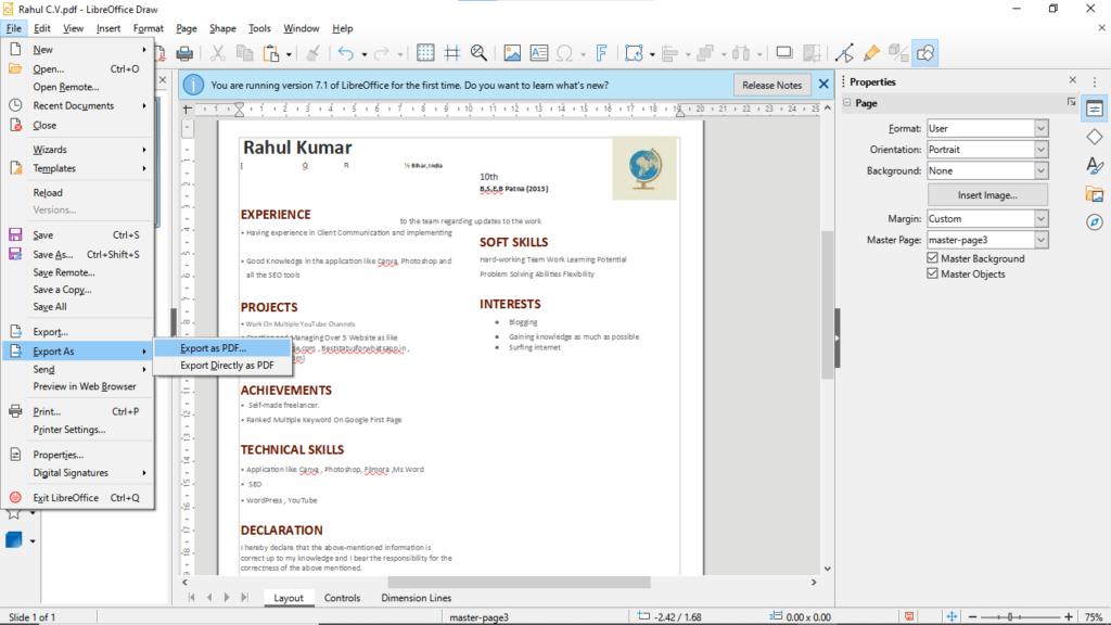 Step4.edit PDF with Google Docs