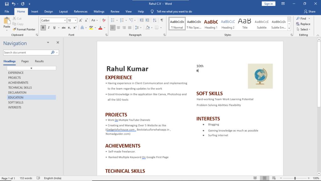 Step4.Edit PDF with Microsoft Word