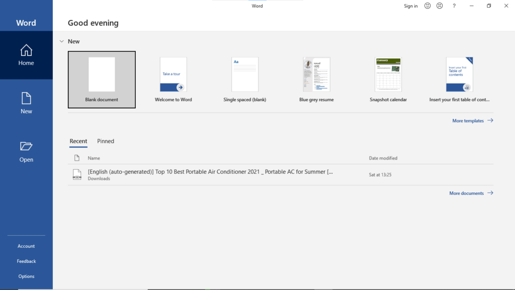 Step1.Edit PDF with Microsoft Word