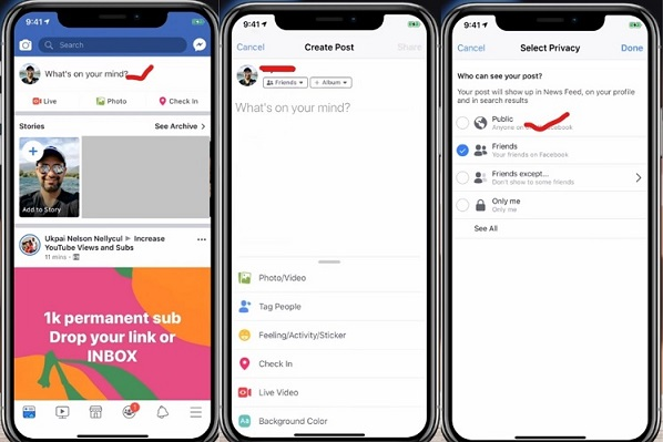 How To Make a New Post Shareable On Facebook App