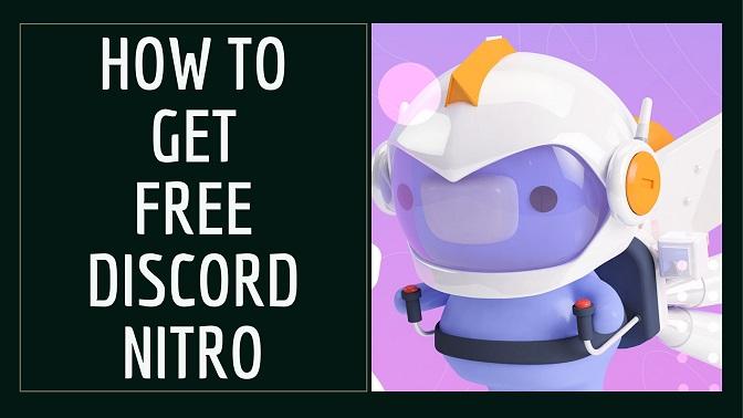 How to get free discord nitro