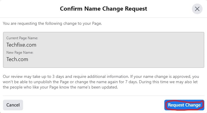 How to Change Page name on Facebook on Desktop