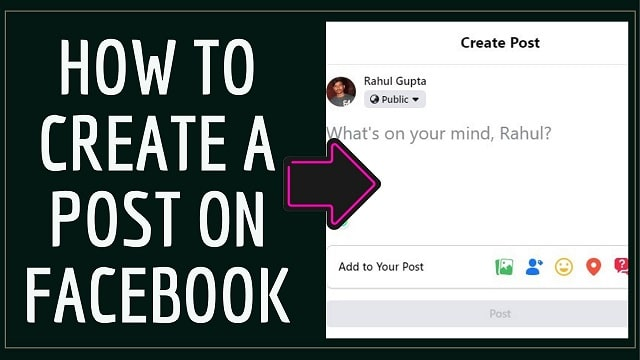How to Create Post on Facebook