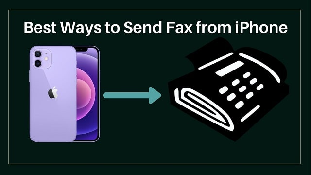 How to Send Fax from iPhone or iPad