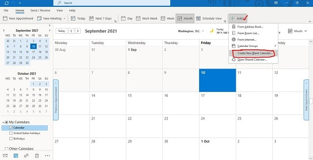 How to Create a Calendar in Outlook